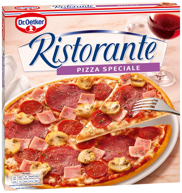 Pizza speciale D.Oetker