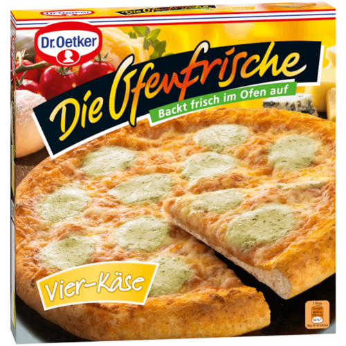 Pizza Vier Kase (4 quesos) D.Oetker